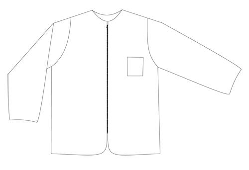 forro chaqueta reflectante alta visibilidad MP4DB-EN471-94-2H