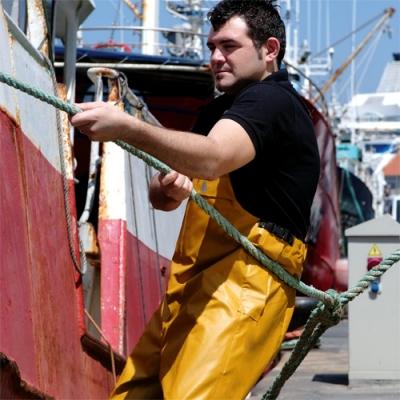 Pantalón impermeable de tirasntes 3 refuerzos - Vestuario de trabajo valencia