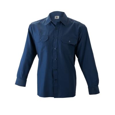 Camisa manga larga algodon - Ropa laboral de trabajo Valencia