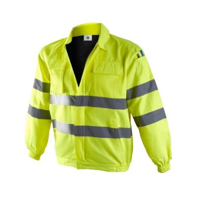 Cazadora amarilla reflectante multibiolsillos - Ropa alta visibilidad - Valencia