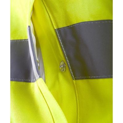 Cazadora reflectante - Ropa laboral alta visibilidad - Valencia detalle