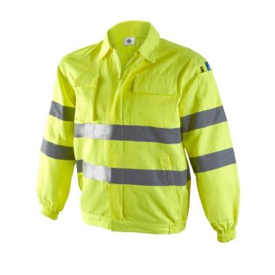 Cazadora reflectante amarilla - Ropa laboral alta visibilidad - Valencia