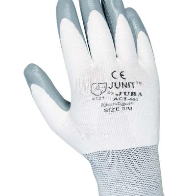 Guantes de Nylon® sin costuras con recubrimiento de nitrilo