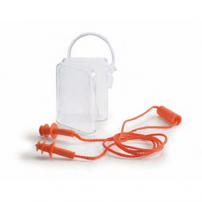 Tapones oídos reutilizables con cordón marvel - Protector auditivo - EPIs