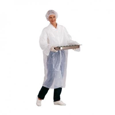 Bata desechable higienica polietileno - Vestuario laboral