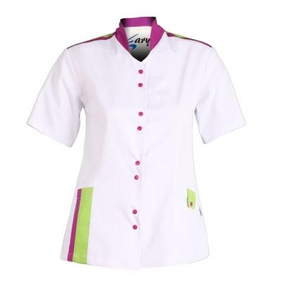 Blusa para señora de manga corta