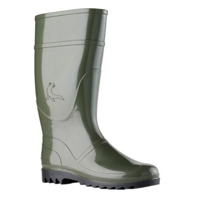 Calzado de seguridad - Botas de agua oliva altas