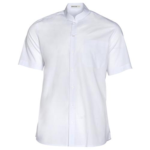 ffa4eb5b654 Camisa Hombre Caballero Manga Corta Mao Basic Blanco - Ropa Laboral