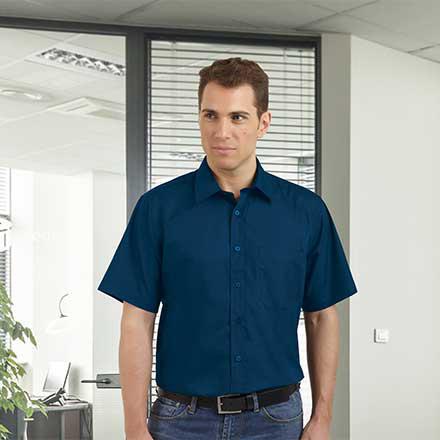 02ede08f8f Camisa popelín hombre manga corta - Ropa Laboral