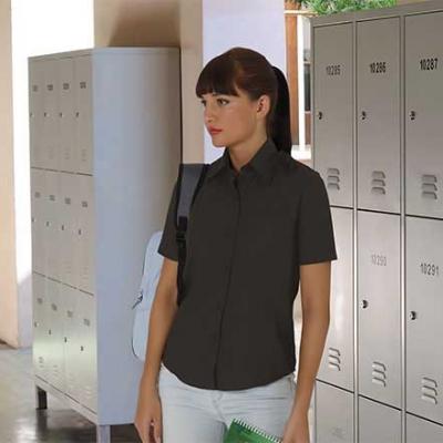 Camisa popelín mujer manga corta - Ropa Laboral