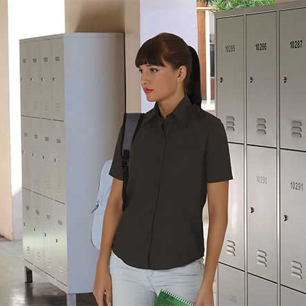 41eca92a92 Camisa popelín mujer manga corta - Ropa Laboral Multifunción EPI´s