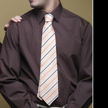 Camisa hombre manga larga con cuello camisero y bolsillo