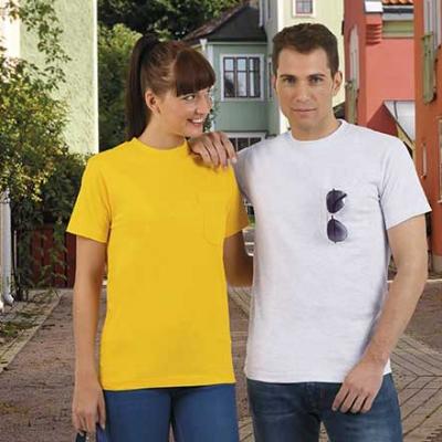 Camiseta básica con bolsillo - Ropa Laboral Valencia