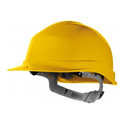 Cascos obra aislamiento eléctrico Zircon - Protección cabeza - EPIs Valencia Amarillo