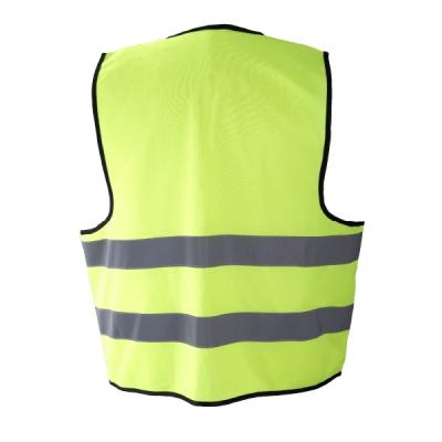 Chaleco reflectante tráfico - Ropa laboral alta visibilidad amarillo - Valencia detrás