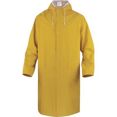 Chubasquero amarillo - Chaqueta de poliéster impregnado doble