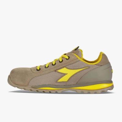 Calzado de seguridad Diadora Amarillo y Beige 01