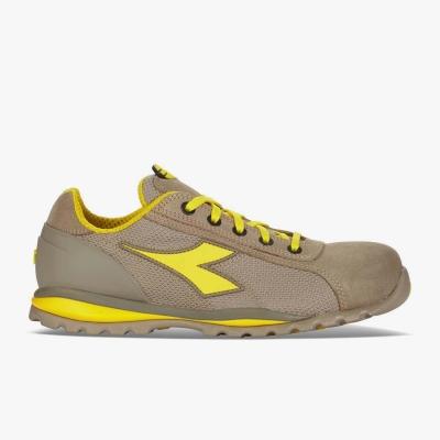 Calzado de seguridad Diadora Amarillo y Beige 02