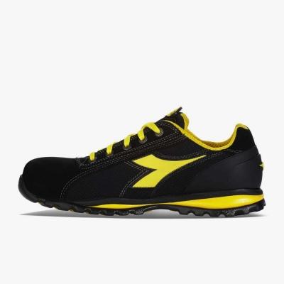 Calzado de seguridad Diadora Amarillo y Negro 02