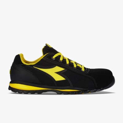 Calzado de seguridad Diadora Amarillo y Negro 03