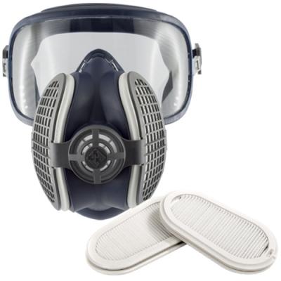 Máscara respiratoria integral con filtros P3