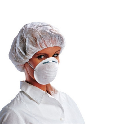 Mascarillas desechables higiénicas - Vestuario laboral industria aliementaria