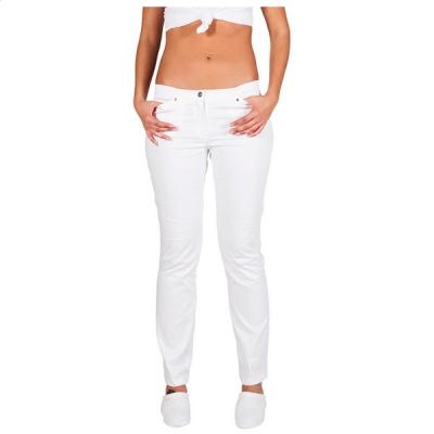 Pantalón chica / mujer elastano blanco