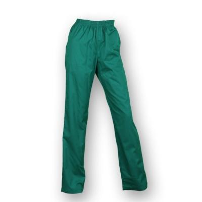 Pantalón largo, con goma elástica y de color verde