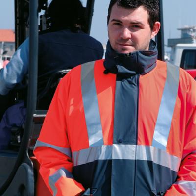 ropa laboral alta visibilidad combinados vestuario trabajo reflectante