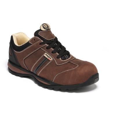 Calzado de seguridad - zapato crack marrón - S1P