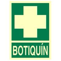 Botiquín - Señales de evacuación