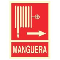 Señal de manguera - Señales de extinción