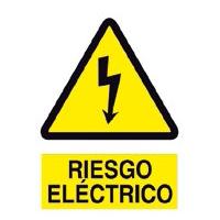 Riesgo eléctrico - Señales de advertencia