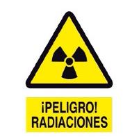 Peligro radiación - Señales de advertencia