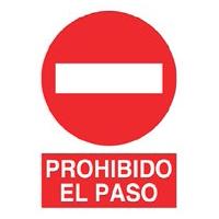 Señal prohibición - Prohibido el paso