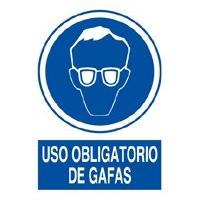 Uso obligatorio gafas