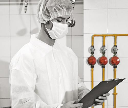 vestuario laboral desechable industria alimentaria