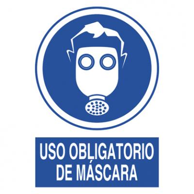 Uso obligatorio Máscara