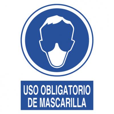 Uso obligatorio Mascarilla