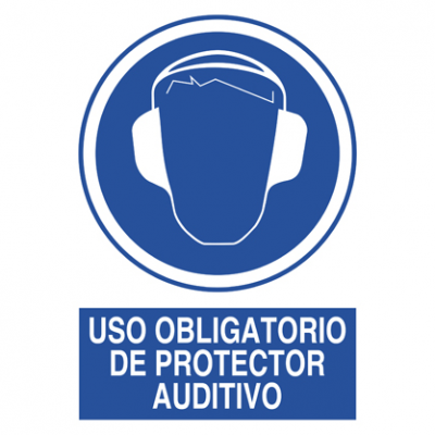 Uso obligatorio Protector auditivo
