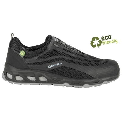 Zapatillas de seguridad ecológicas Watt black