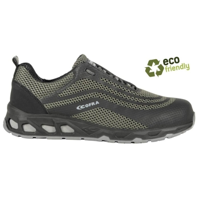 Zapatillas de seguridad ecológicas Watt Grey