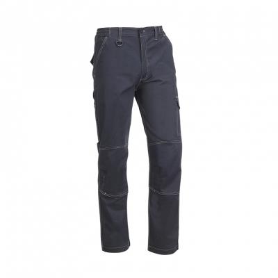 Pantalón multibolsillos, elástico en la cintura
