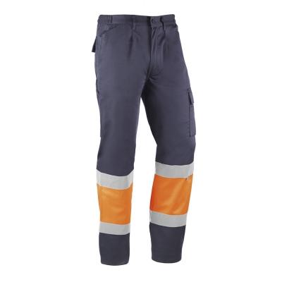 Pantalón multibolsillos, reflectante