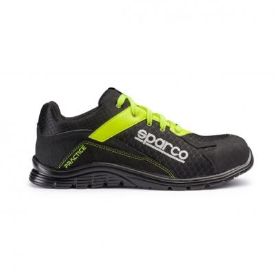 calzado de seguridad S1-P amarillo