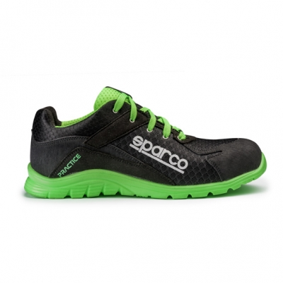calzado de seguridad S1-P verde