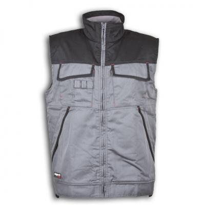Chaleco gris/negro j´hayber arizona ropa laboral