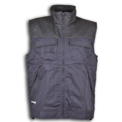 Chaleco marino/negro j´hayber arizona ropa laboral